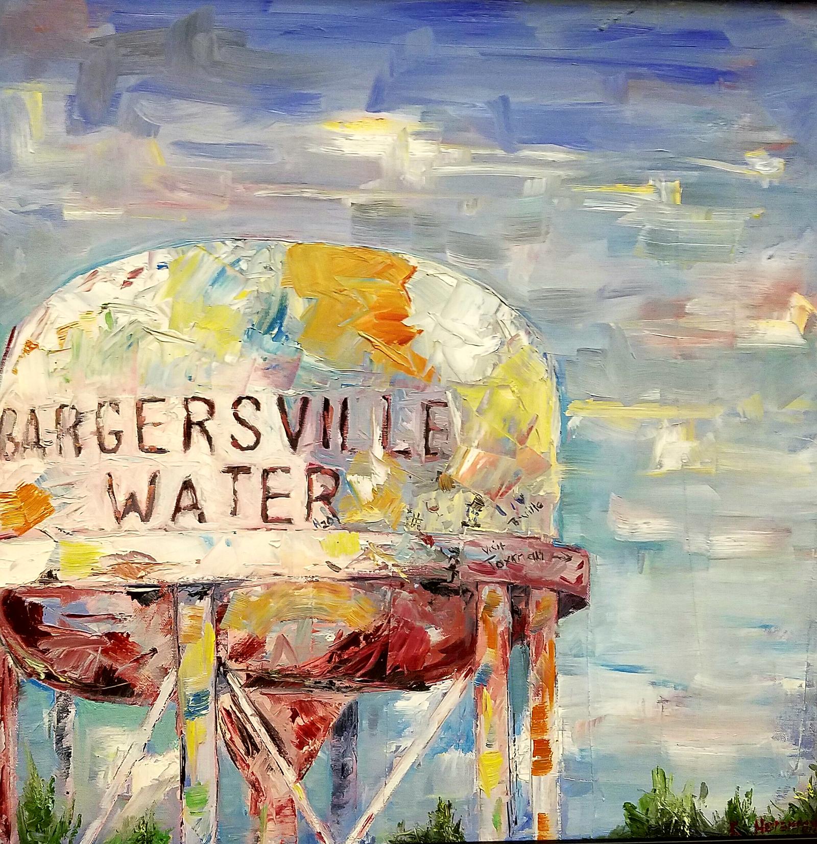 art uncorked 2016 bargersville water tower