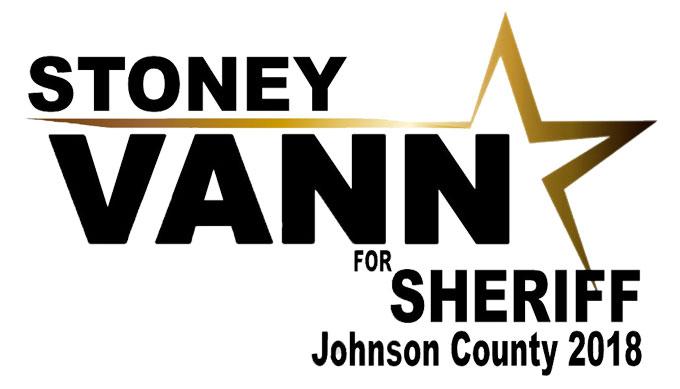 Stoney Vann, Johnson County Sheriff Candidate